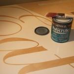 ...then polyacrylic