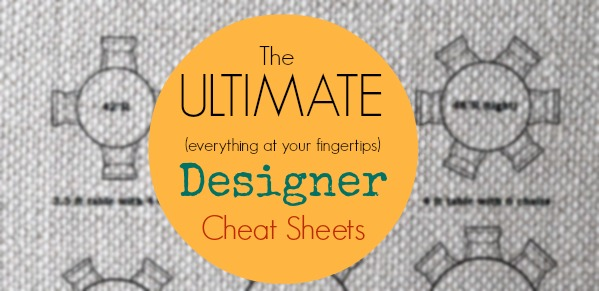Ultimate Designer Cheat Sheets